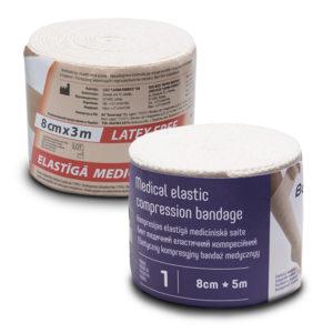Bandaże kompresyjne